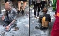Hà Nội: Người đàn ông tẩm xăng tự thiêu giữa phố đông người