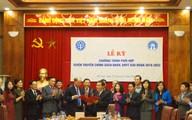 Tổng cục DS-KHHGĐ phối hợp tuyên truyền với Bảo hiểm xã hội Việt Nam