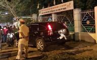 Thượng tá công an lái xe tông 2 người nhập viện