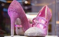 Giày cao gót nạm kim cương giá 4,3 triệu USD