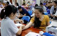 Từ 1/11, người hiến máu tình nguyện có thêm lựa chọn quà tặng là gói xét nghiệm