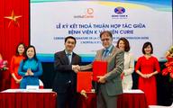 """Bệnh viện K """"bắt tay"""" hợp tác cùng Viện điều trị ung thư hàng đầu châu Âu"""