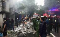 Nghệ An: Điều tra vụ cháy lớn tại khu chứa hàng của tiểu thương chợ Vinh