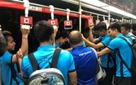 Thầy trò HLV Park vui vẻ rời Malaysia sau chung kết lượt đi AFF Cup