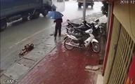 Người chồng ngã quỵ khi nghe hung tin vợ con chết thảm trên đường