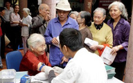 Rủi ro sức khỏe ở người cao tuổi cần phải dự phòng