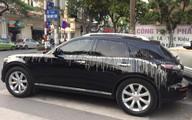 Hà Nội: Đang lái xe thì ăn nguyên xô vữa từ trên trời rơi xuống, tài xế vẫn lạc quan cho rằng mình gặp may
