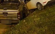 Tài xế đạp nhầm chân ga, lao xuống dốc gây tai nạn trên phố Hà Nội