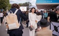 Nhã Phương xuất hiện cá tính khi tới LHP Cannes quảng bá phim