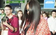 Siêu mẫu Naomi Campbell bất ngờ đến Việt Nam