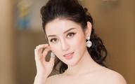Vắng Hồ Ngọc Hà, Kim Lý vui vẻ trò chuyện cùng Huyền My tại sự kiện