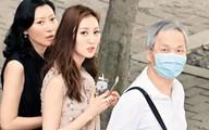 Á hậu 9X Hong Kong ngượng khi xuất hiện bên chồng tuổi U70 trên phố