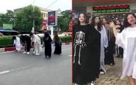 Xử phạt nhóm người hóa trang ma quỷ nhảy nhót ở quốc lộ