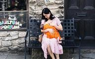 Mẹ đảm như Lan Phương: Chẳng ngại cho con bú mọi lúc, mọi nơi