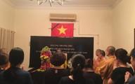Đại sứ quán Việt Nam tại Ấn Độ tổ chức lễ viếng Chủ tịch nước Trần Đại Quang