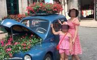 Mẹ đơn thân tử vong vì thanh sắt rơi giữa phố Hà Nội: Bé gái mồ côi ngồi khóc một mình