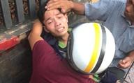 TP.HCM: Mẹ bị xe tải cán tử vong sau va chạm, con trai khóc ngất tại hiện trường