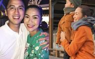 Làm cô dâu 7 năm, Tăng Thanh Hà khoe chồng điển trai và 2 con xinh như thiên thần