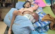 Cô bé Lưu Thị Hồng Phương bị ung thư xương bệnh tiến triển nặng