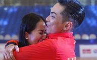 Chồng trẻ giành Huy chương Vàng Sea Games, Khánh Thi khóc nức nở vì hạnh phúc