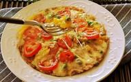 Chẳng cần lò nướng và dùng cơm nguội vẫn làm được pizza giòn ngon