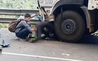 Sau 1 tuần điều trị, phượt thủ dính dưới bánh xe tải tử vong