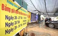 300.000 đồng một lần rửa xe ở Hà Nội ngày giáp Tết