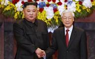 Các cuộc gặp của Chủ tịch Triều Tiên với lãnh đạo Việt Nam