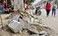 Lát đá vỉa hè cho hơn 100 tuyến phố: Hà Nội sẽ thành đại công trường