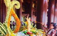 Người dân khắp nơi hoan hỉ dự lễ tắm Phật mùa Phật đản