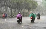 Miền Bắc mưa rất to và dông trong 2 ngày liên tiếp