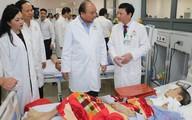 Thanh Hóa: Thủ tướng Chính phủ Nguyễn Xuân Phúc gắn biển công trình Bệnh viện Ung bướu