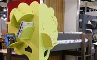 Mẫu thiết kế tủ sách dựa trên ý tưởng cây xanh giúp bé thích đọc sách hơn