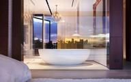 Nâng tầm vẻ đẹp của phòng tắm với đèn chùm rực rỡ