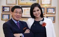"""Nhà chồng """"siêu giàu"""" của Hà Tăng đang thắng lớn với giá cổ phiếu"""
