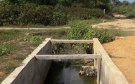 Tá hỏa phát hiện người đàn ông tử vong dưới mương nước ở Hà Tĩnh