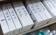 Không có tem tiếng Việt, bánh trung thu trứng chảy vẫn bày bán công khai