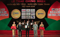 """Văn Phú - Invest được vinh danh """"Top 50 nhãn hiệu Nổi tiếng Việt Nam"""""""