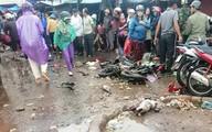Vụ xe khách tông chết 4 người: 'Cảnh tượng thật kinh hoàng'