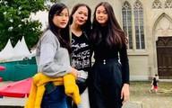 Mỹ Lệ cho hai con gái du học Đức