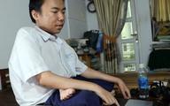 Nam sinh bại liệt ở Sài Gòn được tuyển thẳng vào đại học
