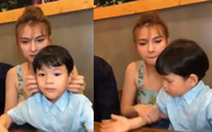 Thu Thủy khẳng định chồng trẻ đã cùng cô nuôi dạy con suốt 2 năm qua dù hơn 1 năm trước anh chàng vẫn còn tham gia show hẹn hò với người yêu cũ