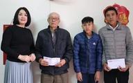 Báo Gia đình và Xã hội trao tiền bạn đọc ủng hộ đến hai hoàn cảnh khó khăn ở Hải Phòng