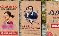 """Đừng bỏ qua những mẫu bao lì xì đang gây """"sốt"""" rần rần trên thị trường Tết Canh Tý"""