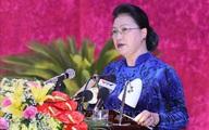 Chủ tịch Quốc hội dự Đại hội đại biểu Đảng bộ tỉnh Hòa Bình lần thứ XVII