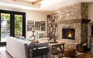 Lò sưởi: Điểm nhấn mới cho trang trí phòng khách gia đình thêm phần ấm cúng trong mùa đông