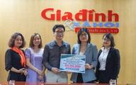 Công ty Toàn Cầu – Lạc Hồng Viên đồng hành Báo Gia đình & Xã hội hỗ trợ 14 tấn gạo tới Hà Tĩnh và Quảng Bình