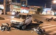 Lời khai tài xế ôtô tông hàng loạt xe máy ở TP.HCM