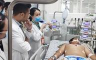 Té do vấp sợi dây, nam sinh bị nhiễm trùng huyết toàn thân