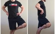 """""""Đứng bằng một chân"""", bài tập giúp kiểm tra nguy cơ bị đột quỵ dễ dàng"""